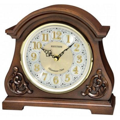 Solid Wood Silent Mantel Clock